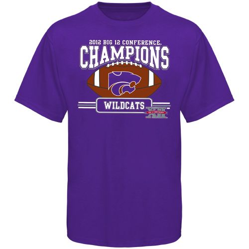 Kansas State Wildcats 2012 Big 12 Football Champions T Shirt Purple