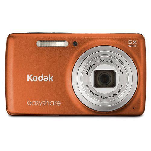 Kodak EasyShare M552 Orange 14MP Digital Camera + 2GB + Case / Bag   6