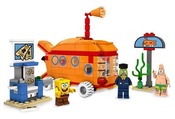 Lego Spongebob 3830 Bikini Bottom Express New Sealed
