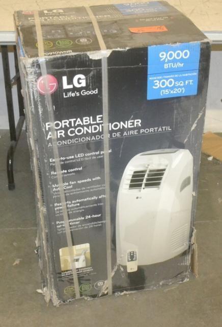 LG LP0910WNR 9000 BTU Portable Air Conditioner