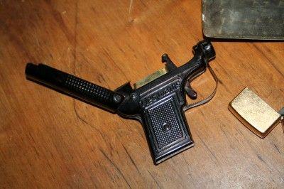 Zippo Lighter Lot Silver Money Cigarette Case Browning Lighter