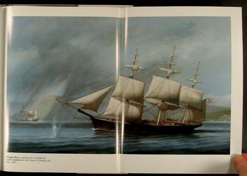 Confederate Maritime Civil War Raiders Louis Dodd Art