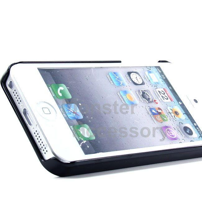 Elegant Blue Metal Hard Case Cover for Apple iPhone 5 5g 6th Gen