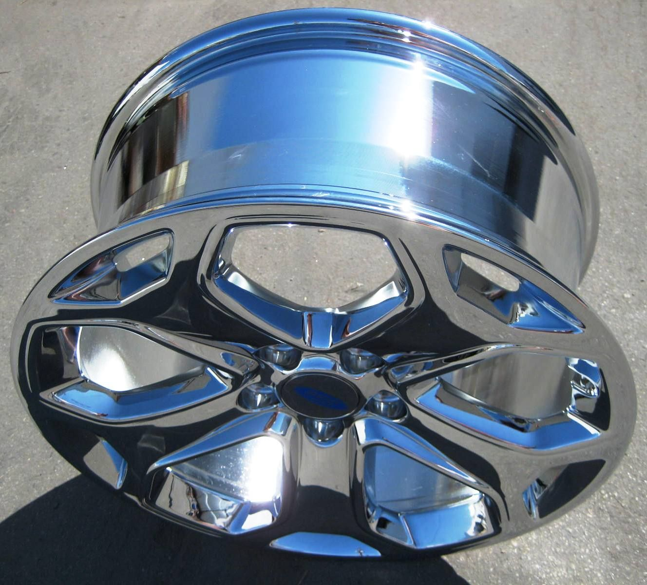 NEW 18 FACTORY FORD EDGE OEM CHROME WHEELS RIMS 2010 13 3848 OUTRIGHT
