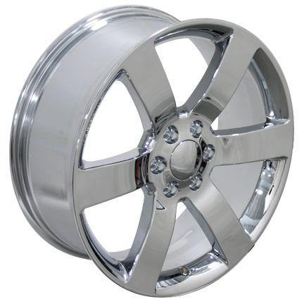 Trailblazer SS Wheels Chrome 20x8.5 Rims Fit Chevrolet GMC Cadillac