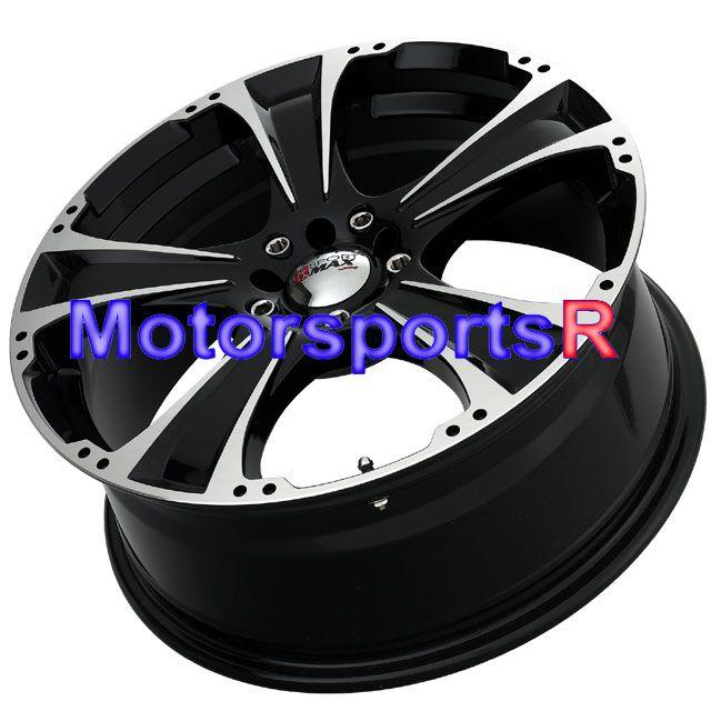 15 XXR 008 Black Rims Wheels Chrysler PT Cruiser 00 06