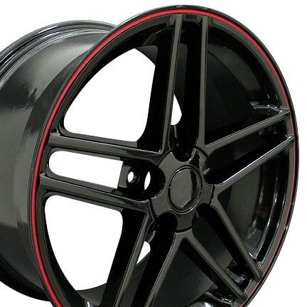 18 Corvette C6 Z06 Style Wheels Set Rim Fits Camaro