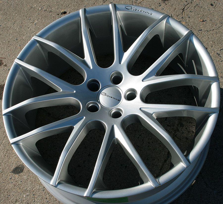 Giovanna Kilis 22 Silver Rims Wheels Dodge Charger V6 Hemi