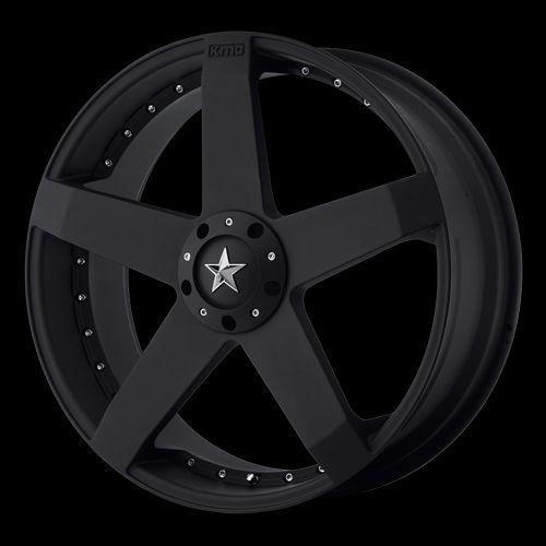 22 inch Wheels Rims Black Ford Mustang Explorer 5x4 5