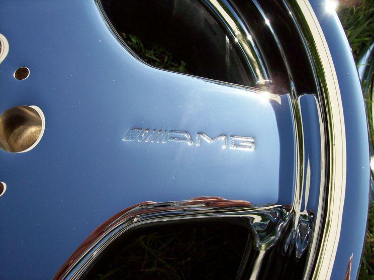 18 Factory Mercedes AMG Chrome Wheels s CL S500 S430 S320 CL500 CL55