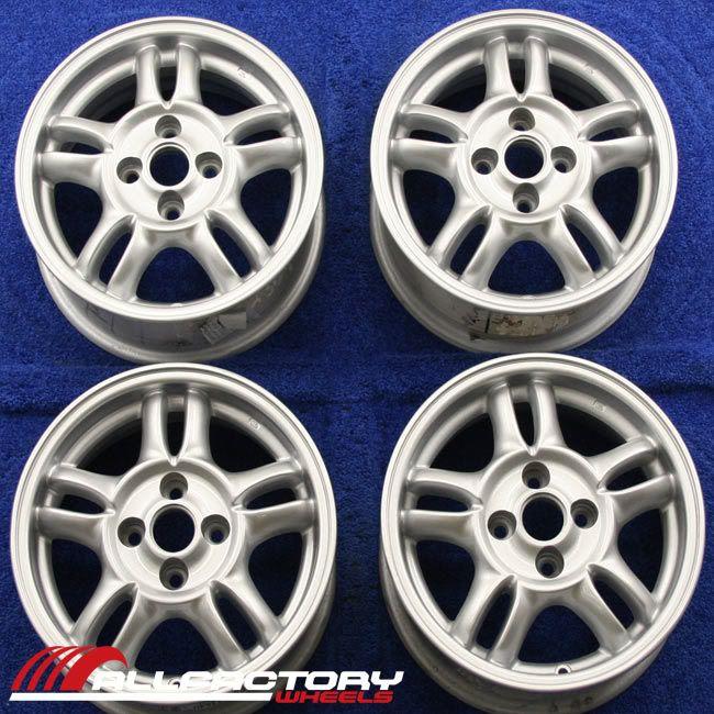 Nissan 200SX Sentra 14 1998 98 1999 99 Factory Wheels Rims Set Four