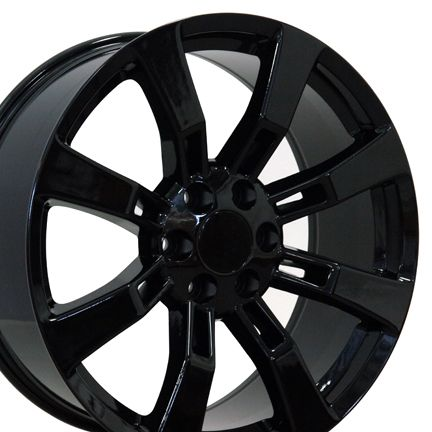 Escalade Wheels Fit Cadillac GMC Chevy Suburban Murdered Set of 4 Rims