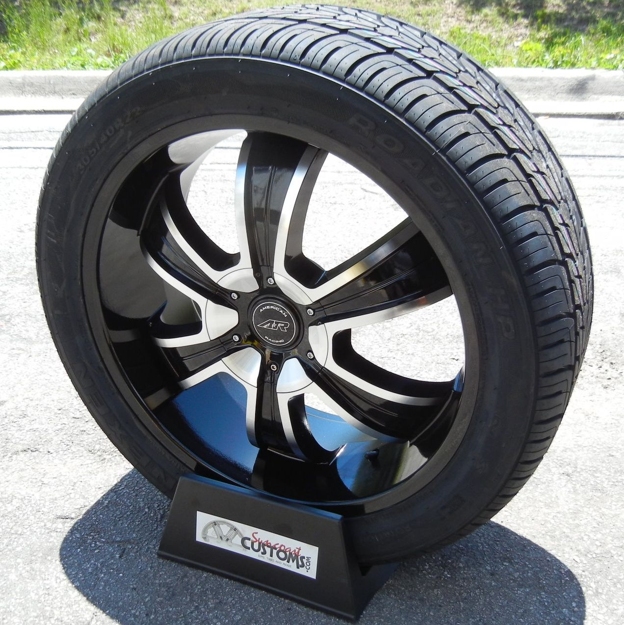 22 American Racing Wheels Nexen Roadian HP Tires Ford F150 Expedition
