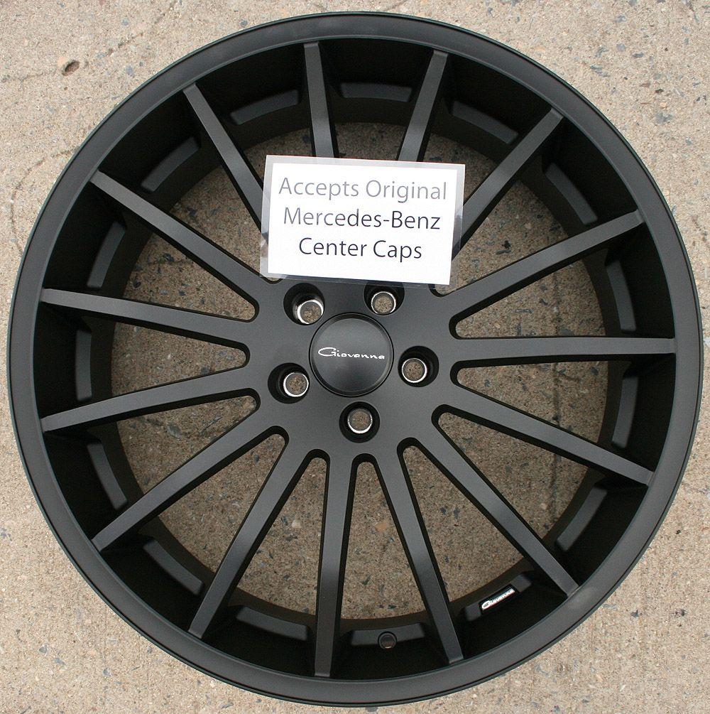Giovanna Martuni 22 Black Rims Wheels FX35 FX45 03 Up 22 x 9 0 5H 38