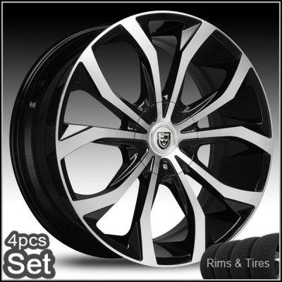 28 Wheels and Tires Escalade Chevy Ford QX56 H3 Silverado Yukon