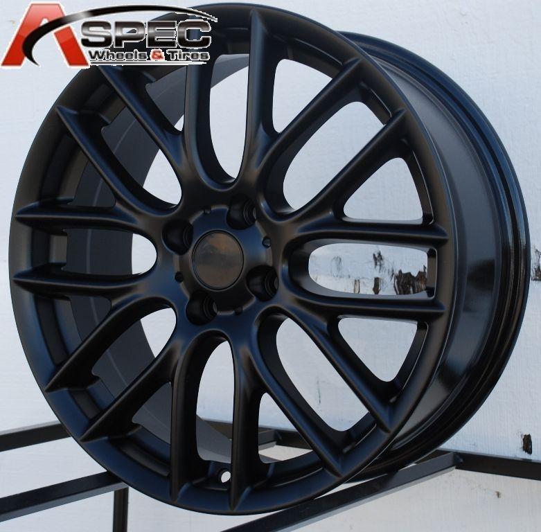 17x7 J Cooper Work Style Matt Black 4x100 Wheel Rim Fits Mini Cooper s