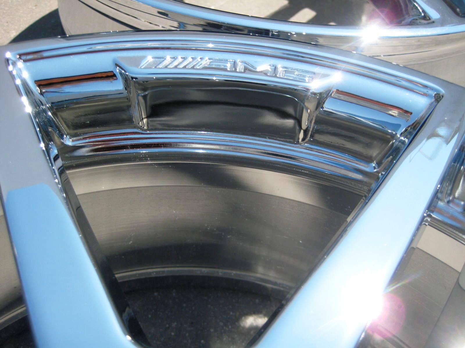 STOCK 4 18 FACTORY MERCEDES E550 E350 AMG CHROME WHEELS RIMS 2010 13