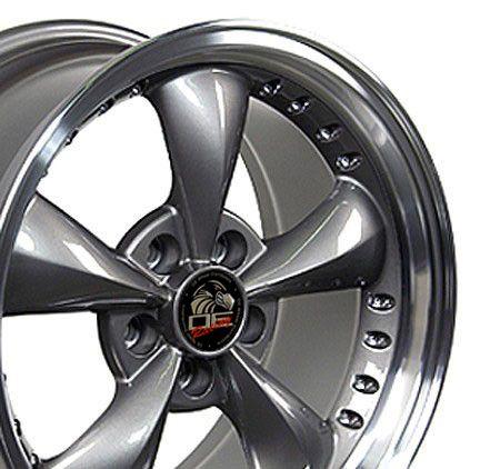 Anthracite Bullitt Wheels Bullet Rims Fit Mustang® GT 94 04