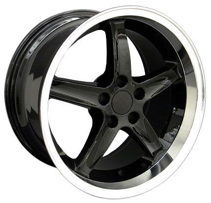 Black Cobra Deep Wheels Nexen Tires Rims Fit Mustang® 94 04