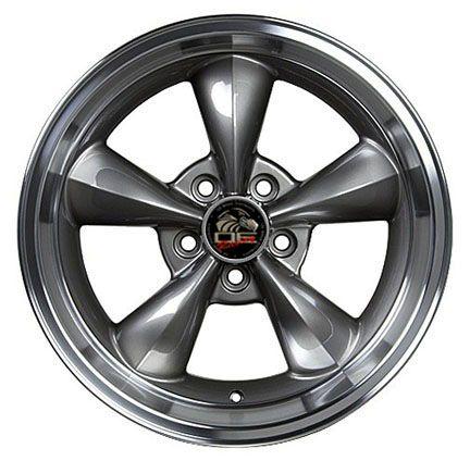 Anthracite Bullitt Bullet Wheels ZR Tires Rims Fit Mustang® GT 94 04