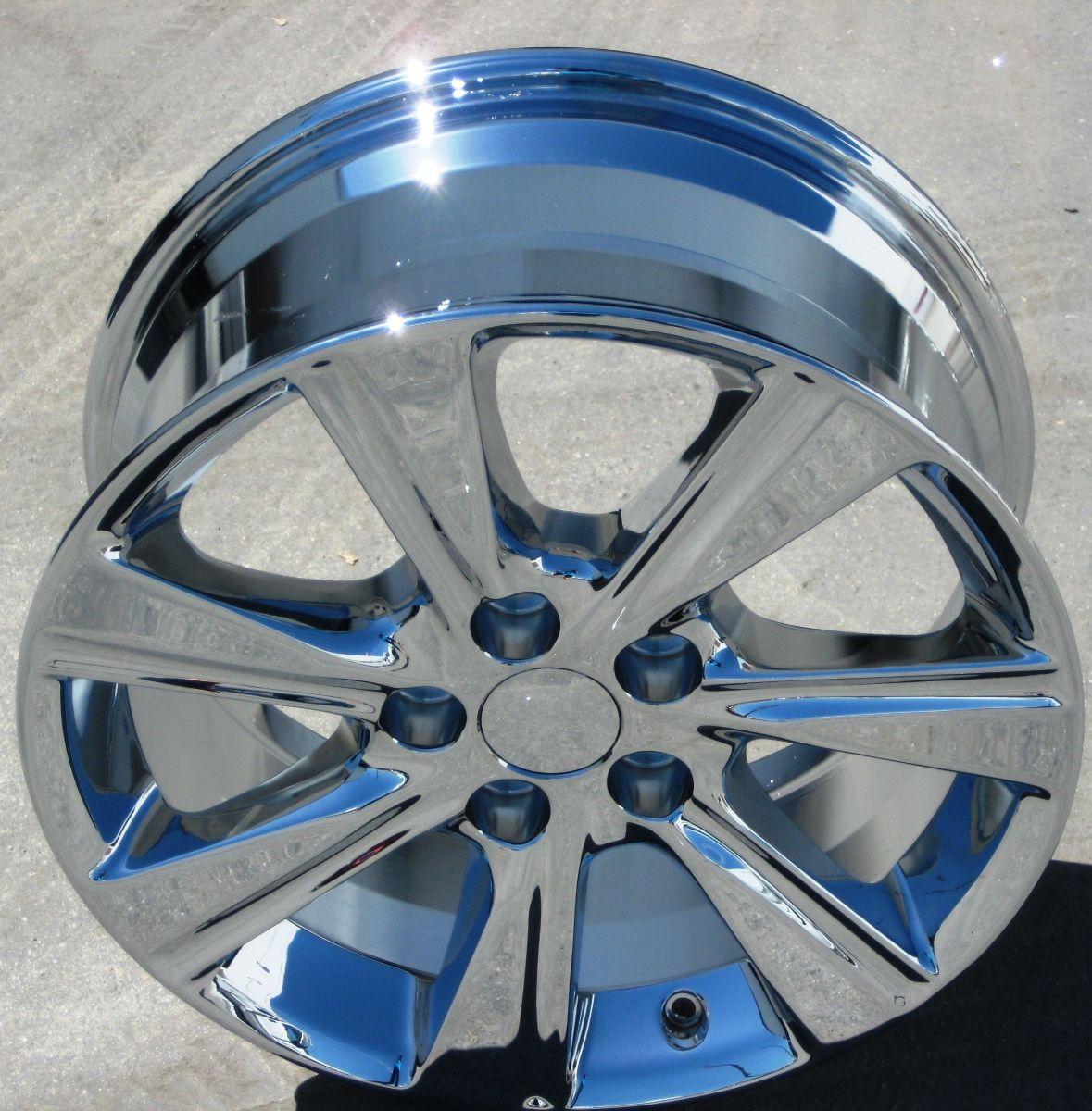 FACTORY TOYOTA HIGHLANDER CHROME WHEELS RIMS RX350 VENZA RX330 69580