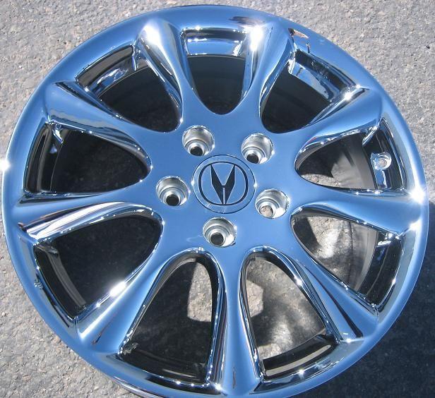 Factory Acura TSX Chrome Alloy Wheels Rims Accord 714 940 1761