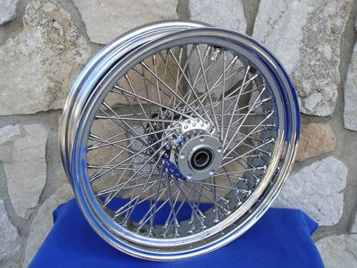 18x4 25 60 Spoke Front Wheel for Harley Heritage Fat Boy Deluxe 2000