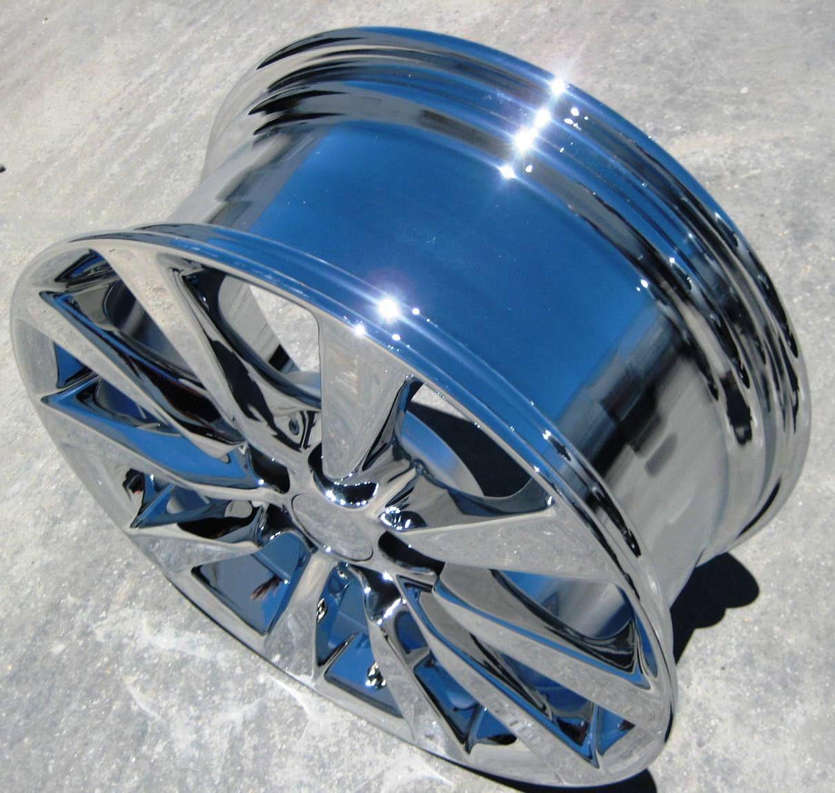 Stock 18 Factory Lexus LS460 LS600 Chrome Wheels Rims 2010 13