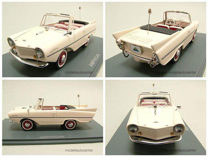 Amphicar creme, Modellauto 143 / Neo Scale Models