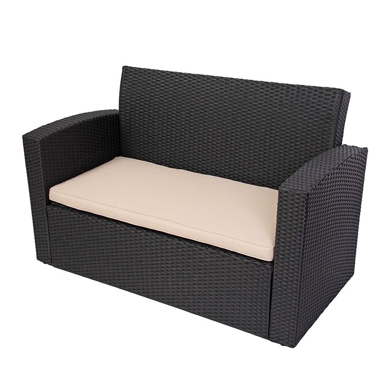 Uberlegen Finest Rattan Lounge Anthrazit With Rattan Lounge Anthrazit