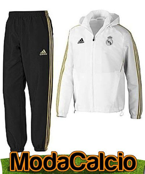 Real Madrid Adidas Tuta Presentation Trainingsanzug Pres tg 2011 12