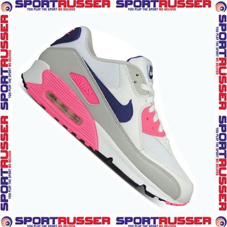 Nike WMNS Air Max 90 (105) white/concord/laser pink
