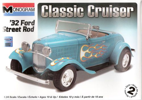 Revell USA 10882   Ford Street Rod   1932   124