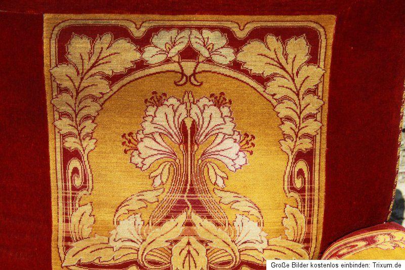 Jugendstilsofa Sofa Art Nuveau Um 1920 Original Antik Grunderzeit