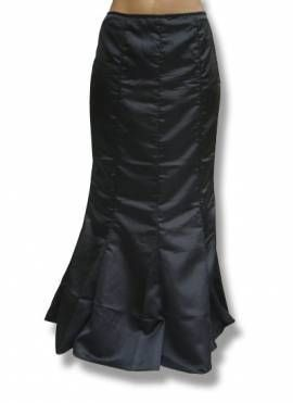 SATIN GOTHIC ROCK Fishtail Visual Kei Lolita Cosplay SM