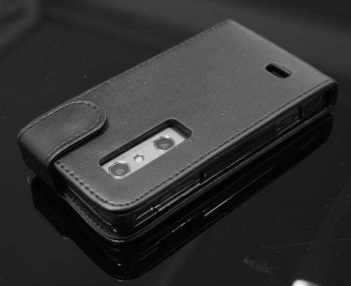 LG P920 OPTIMUS 3D Handy Leder Tasche PU Leather Flip Case Hülle Etui