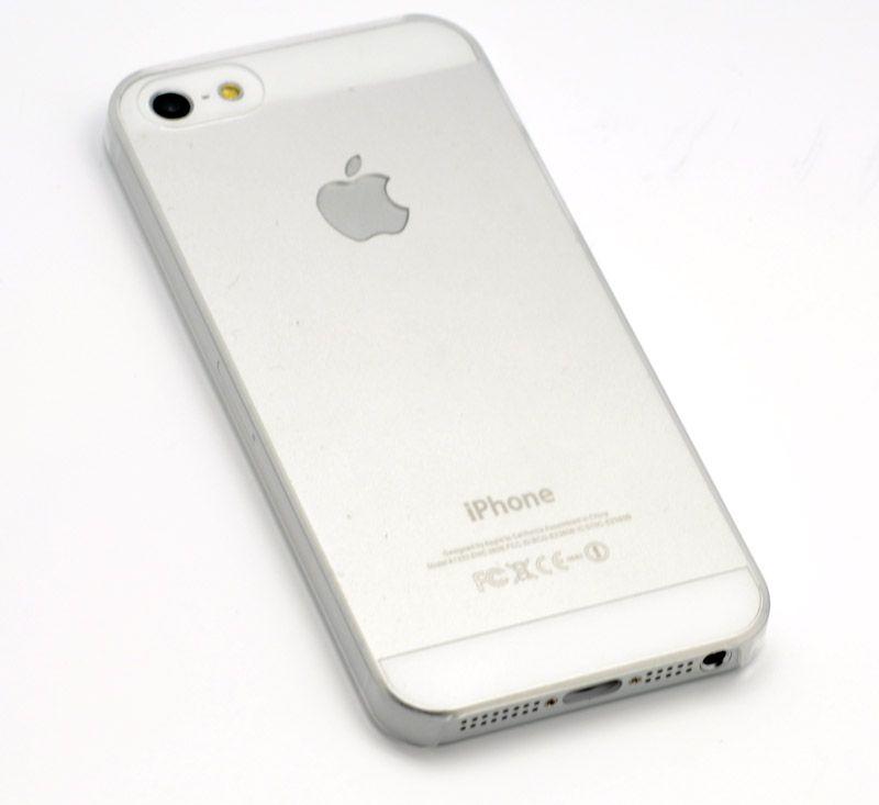 iPhone 5 Hard Case Cover Tasche Huelle Schutzhuelle transparent