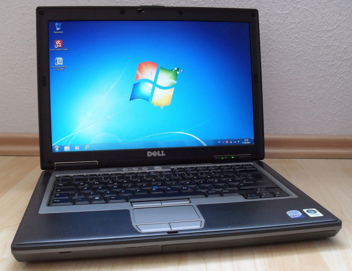 Dell Latitude D620 Core Duo 1,66Ghz, Wlan, + Dockingstation