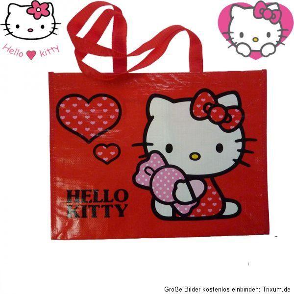 Einkaufstasche Hello Kitty Shopper Tragetasche Bag Neu