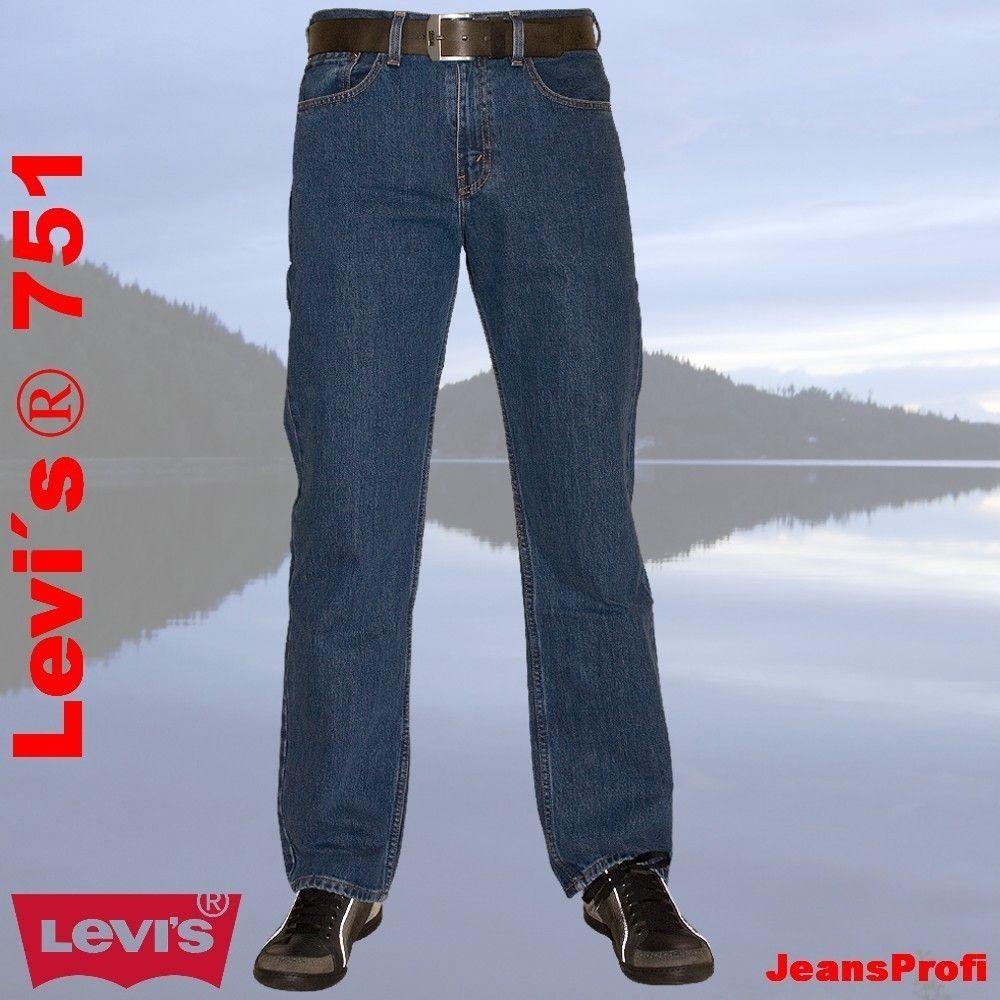 levis 751 standard stonewash herren jeans hose 7510216 hosen. Black Bedroom Furniture Sets. Home Design Ideas