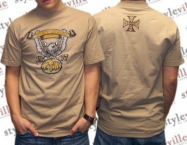 WCC West Coast Choppers T Shirt FTW 1977 * Jesse James, Biker