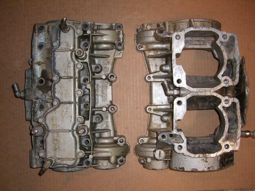 Sea Doo 787 RFI Engine Crank Cases SeaDoo 800 GSX GTX GTI Le 3D